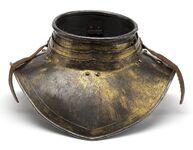 Halskragen um 1620, Karl Filips tornérrustning, Livrustkammaren 97401