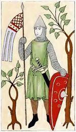 Krieger 1160-1220, trachtenkunstwer02hefn Taf.093D