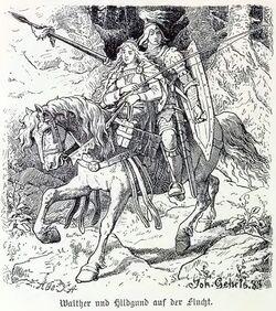 Walther und Hildgund walhallgermanisc1888dahn p500