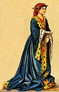 MgKL Kostüme 02 Wm11536b, Abb.04 - Burgundisches Edelfräulein 15.Jh