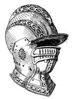 Sturmhaube, deutsch um 1560 handbuchderwaff@boeheim, Fig.041