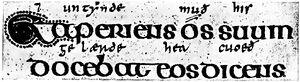 Angelsächsische Schrift RdGA Band 1 Tafel 04-02