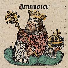 König Arthus Nuremberg chronicles f 143v2