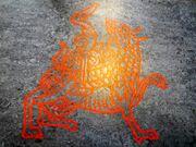 Maeshowe Dragon, PunkToad 2018-06-20