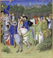 Stundenbuch Herzog von Berry 1416 Mai