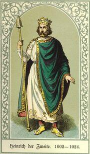 Heinrich II., Barack, Die deutschen Kaiser