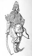 Russischer Bogenschütze 14.-15.Jh, kriegswaffen00demmin p0894, Fig.02