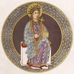 St. Helena, Cod. Sal., 770-850, trachtenkunstwer01hefn Taf.009