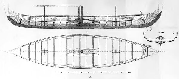 Gokstadschiff RdgA Bd4, Tafel 14