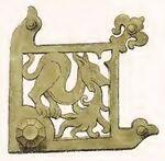 Ornamentik 1280-1320, Trachtenkunstwer03hefn Taf.150F