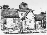 Angelsächsischer Kirchturm