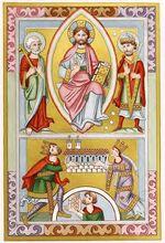 Vita Heinrici II., RB.Msc.120, fol.001v, trachtenkunstwer01hefn Taf.049