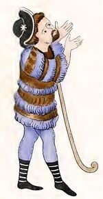 Hirtenkleidung 1050-1120, Trachtenkunstwer01hefn Taf.062b