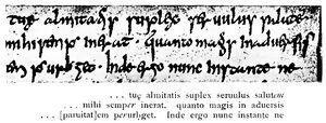 Angelsächsische Schrift RdGA Band 1 Tafel 04-03