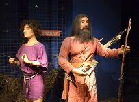 Trachten 3500 BC, Archäologisches Museum Krakau