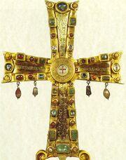 Crux Vaticana, Cross of Justin II