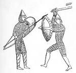 Teppich von Bayeux, Waffenvergleich, kriegswaffen00demmin, p0367