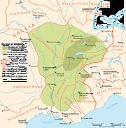 Burgund Königreich Karte 443-476