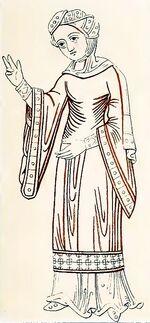 Hiobs Frau, St. Peter zu Salzburg, trachtenkunstwer01hefn Taf.064g