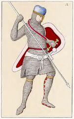 Krieger 1160-1220, Trachtenkunstwer02hefn Taf.099A