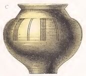 Keramikgefäß 10.Jh, trachtenkunstwer01hefn p097, Taf.025c