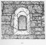 Escomb Church Fenster RdgA Bd1, Taf.039, Abb.011
