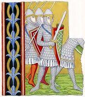 Schuppenrüstungen 1160-1220, Trachtenkunstwer02hefn Taf.095A
