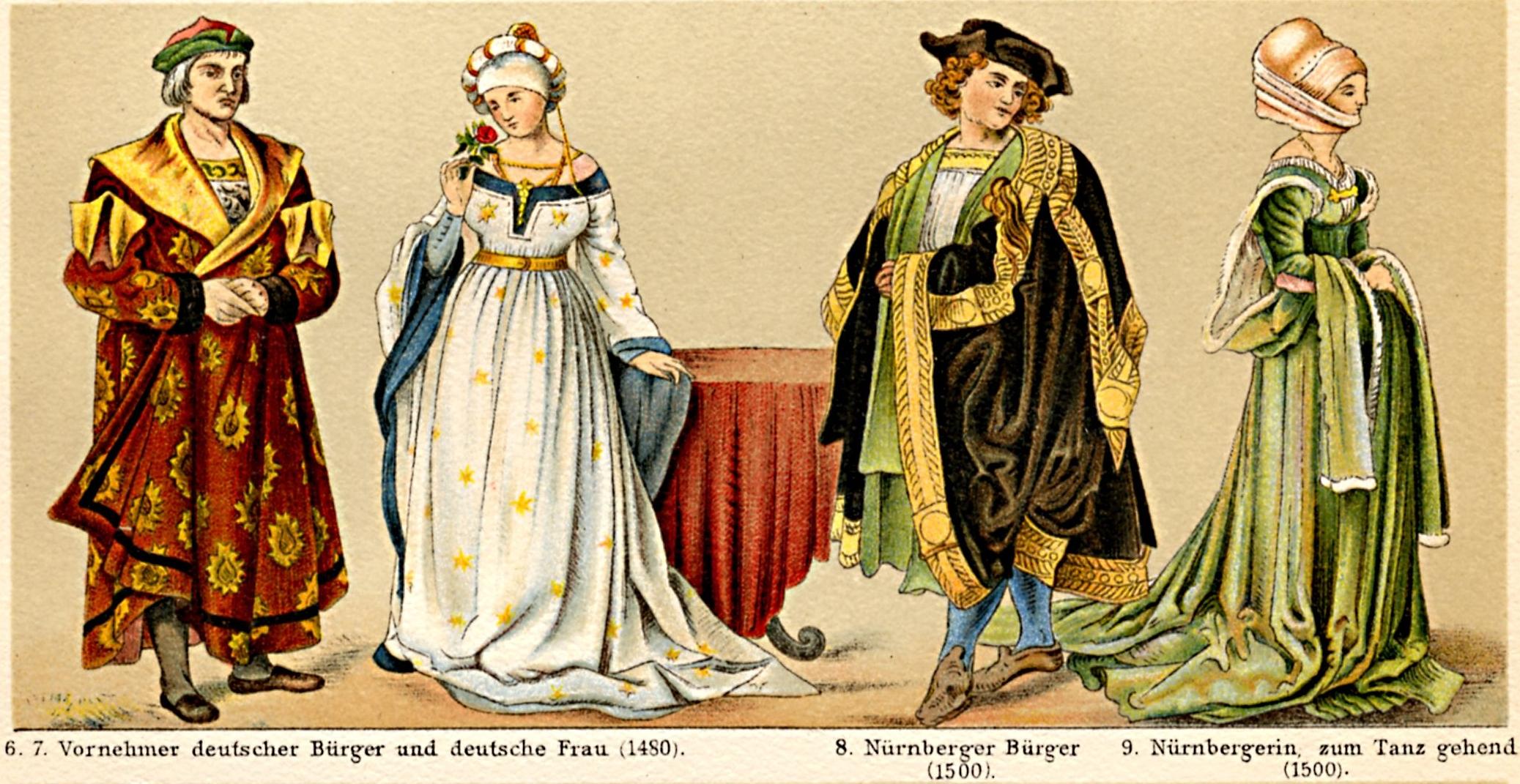 Kleidung der adligen frauen im mittelalter