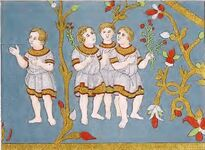 Kaiserdalmatika Stickerei, trachtenkunstwer02hefn Taf.073b