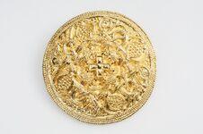 Scheibenfibel, Hiddenseer Goldschatz, SHM 29750-268
