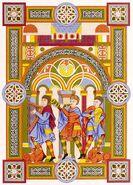 Manuskript UB Leipzig 950-1050, trachtenkunstwer01hefn Taf.043