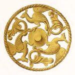 Ornamentik 1280-1320, Trachtenkunstwer03hefn Taf.150I