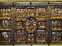 Sant'Ambrogio Basilica Milano, Chor Altar 3 2018-10-05