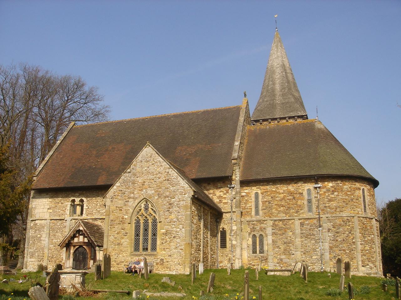 Bild - Worth, St. Nicholas Church, by Voice of Hassocks 2009-03-21 ...