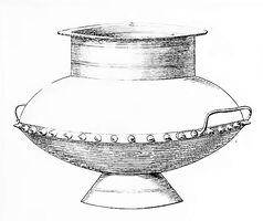 Bronzegefäß, Hallstatt, dasgrabfeldvonha00sackuoft Taf.023, Abb.001