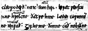 Angelsächsische Schrift RdGA Band 1 Tafel 05-06