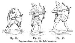 Bogenschützen 11. Jh RdA 00028