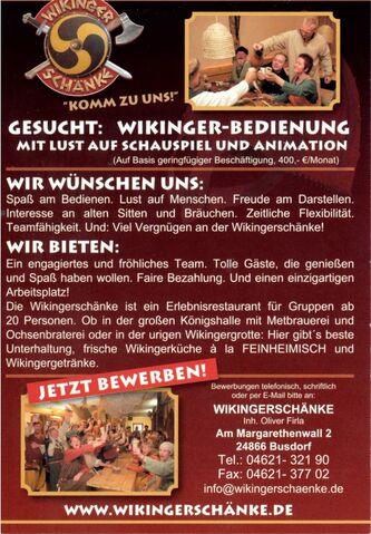 Bild - Wikingerschänke Busdorf 2013-07-22 02.jpg | Mittelalter Wiki ...