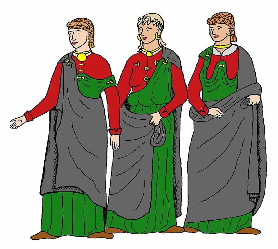 Kleidung der romer wikipedia