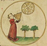 Astronomie, Artes liberales, Unibibliotek Salzburg, M III 36