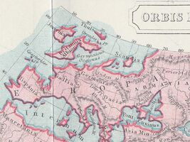 Ptolemaeus Weltkarte Butler Obris