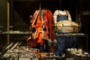 Viking attire and jewellery - VIKING exhibition at the National Museum of Denmark