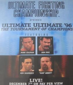 Ultimate Ultimate 1996 event poster