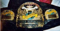 UFC 9 Superfight belt