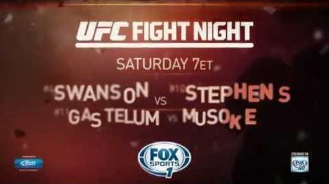 Fight Night San Antonio Cub Swanson vs. Jeremy Stephens