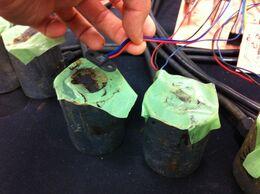 Testing electromagnet