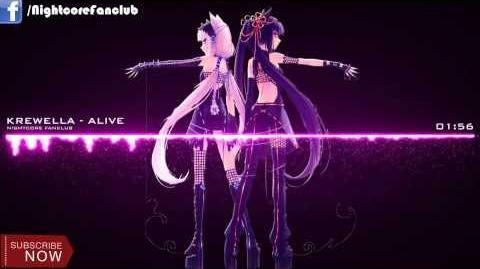 ▶ Nightcore - KREWELLA - ALIVE