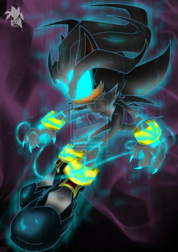 Dark Super Silver The Hedgehog 33978847 753