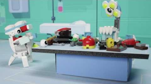 Strange Medix Mixels experiment creates new Mixels Max - LEGO Mixels - Stop Motion