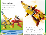 Zaptor zorch mix book page